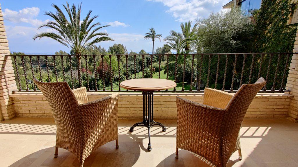 Castillo Hotel Son Vida Mallorca Zimmer Balkon 2