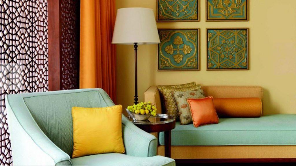Deluxe Zimmer Sitzecke Ritz Carlton Dubai 2