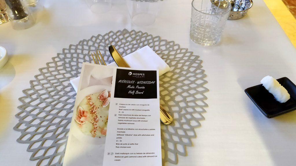 Hospes Hotel Maricel Mallorca Abendessen