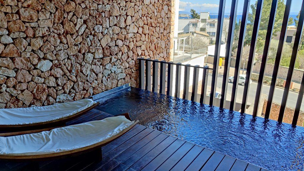Hospes Hotel Maricel Mallorca Zimmer Balkon