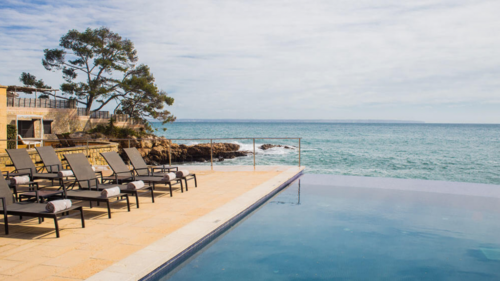 Hotel Hospes Maricel Spa Palma De Mallorca Pool 2