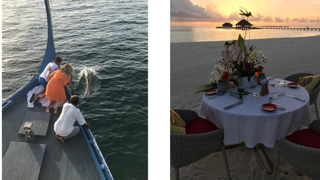 Kanuhura sunset Tour & private Dinner