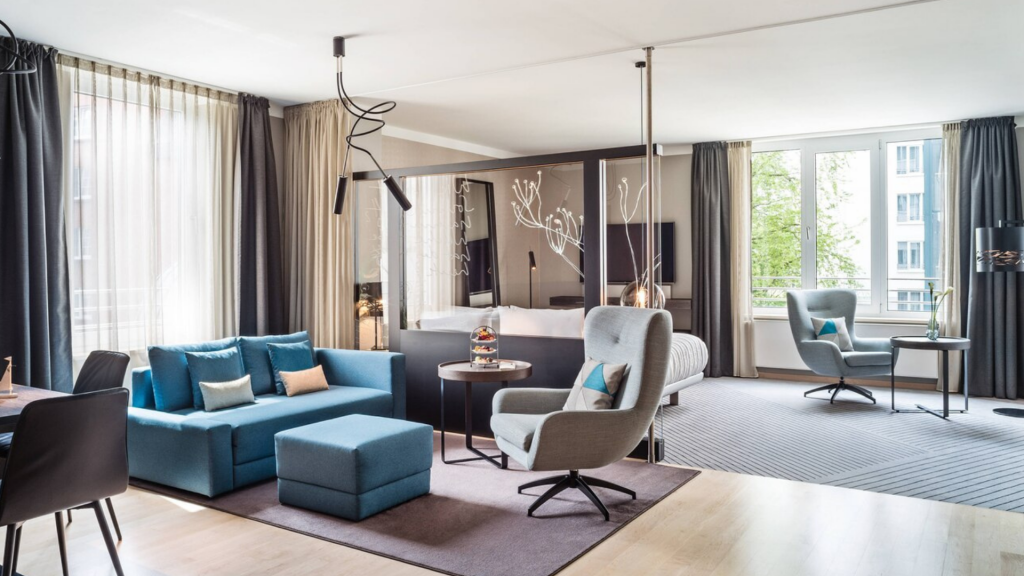 Le Meridien Hamburg Heritage Junior Suite