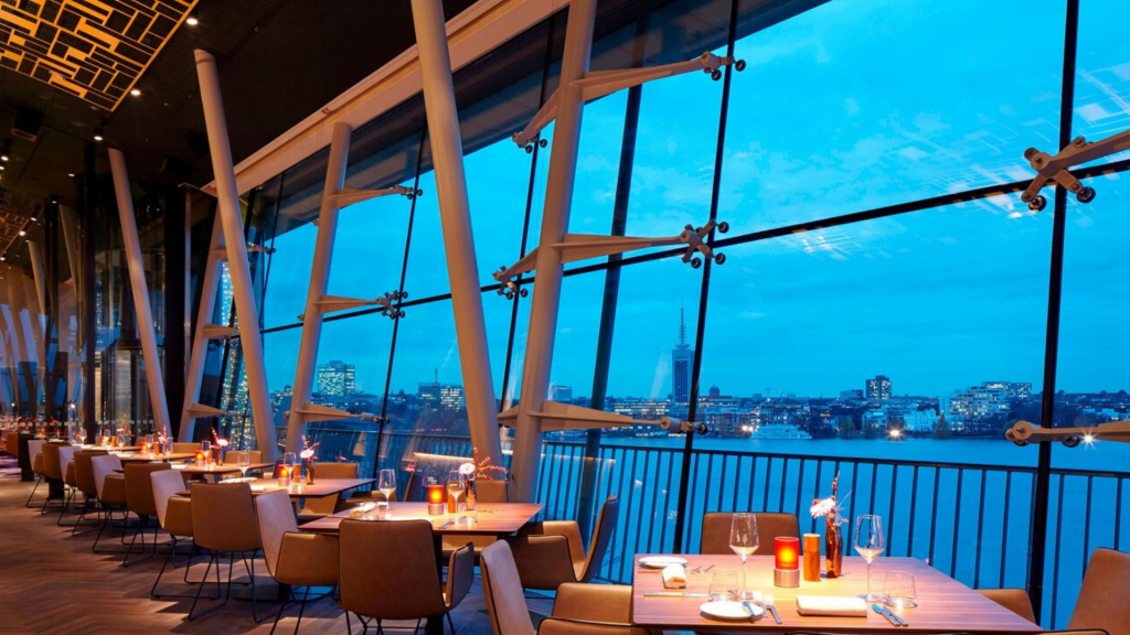 Le Meridien Hamburg Heritage Restaurant