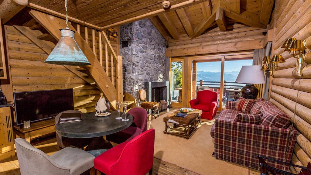 LeCrans Hotel Spa Rocky Mountains Suite