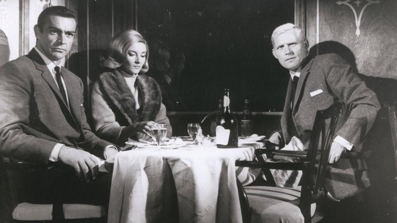 James Bond 007 im Orient-Express in Liebesgrüße Aus Moskau