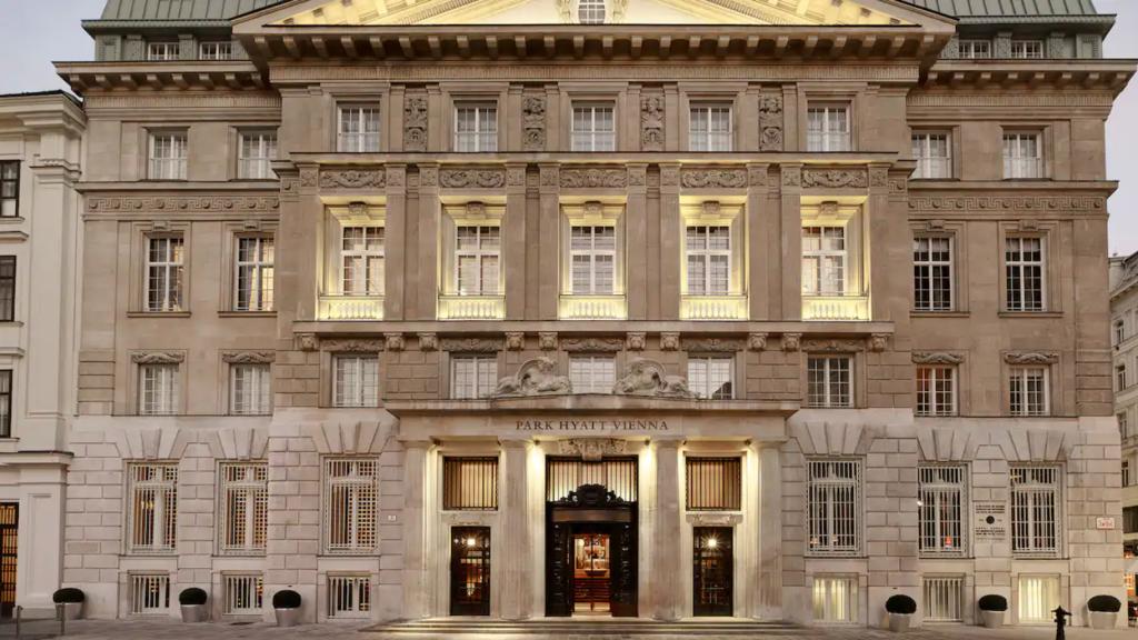Park Hyatt Wien Fassade
