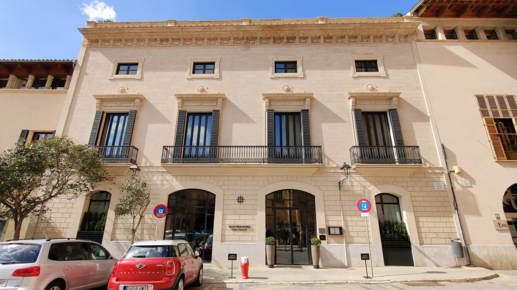 Sant Francesc Hotel Singular Palma De Mallorca Gebäude