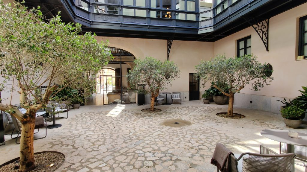 Sant Francesc Hotel Singular Palma De Mallorca Innenhof