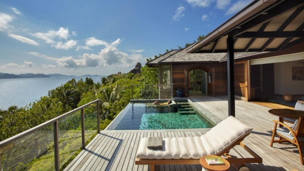 Six Senses Zil Pasyon Panorama Pool Deck