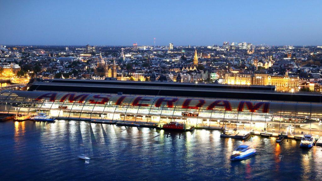 Interrail Amsterdam Hauptbahnhof