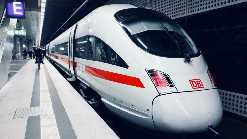 City-ticket Zug der Deutschen Bahn