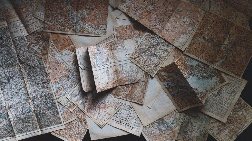 Symbolbild für frühere Landkarten