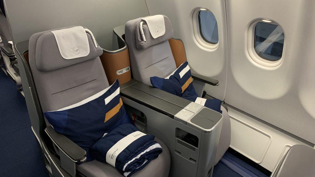 Lufthansa Business Kabine 2