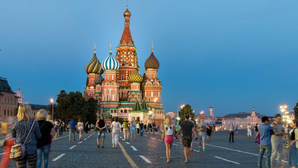 Transsib Startort Moskau