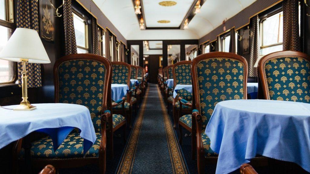 Orient-Express Innenausstattung
