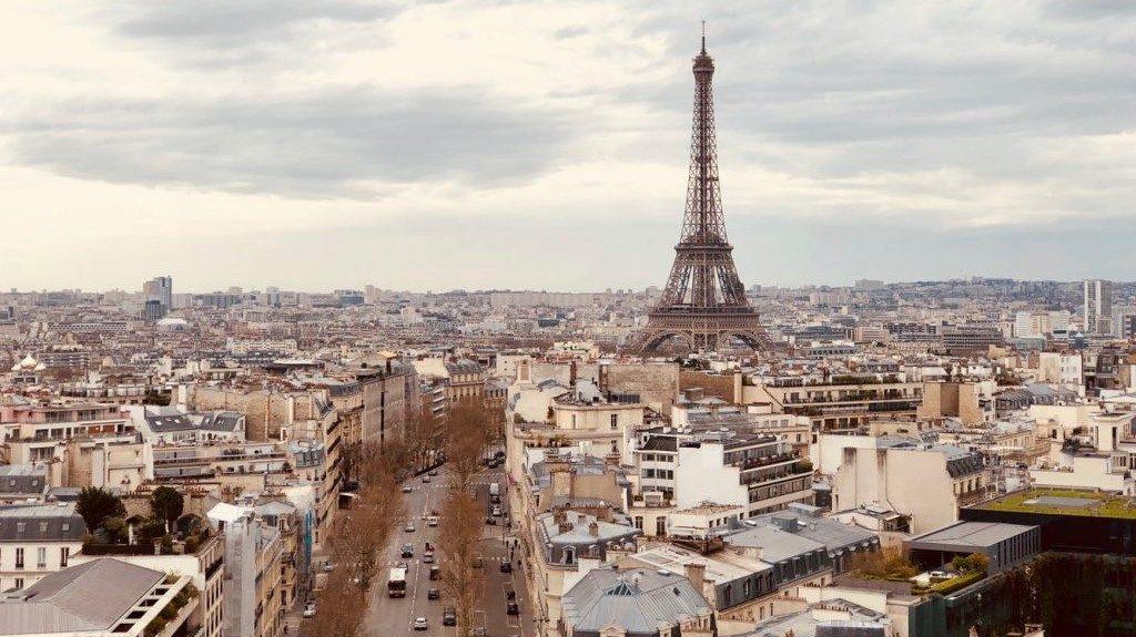 Interrail Beispielort Paris