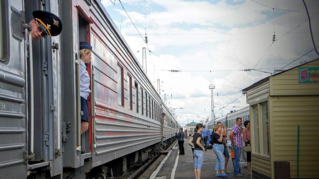 Transsib Bahnstation