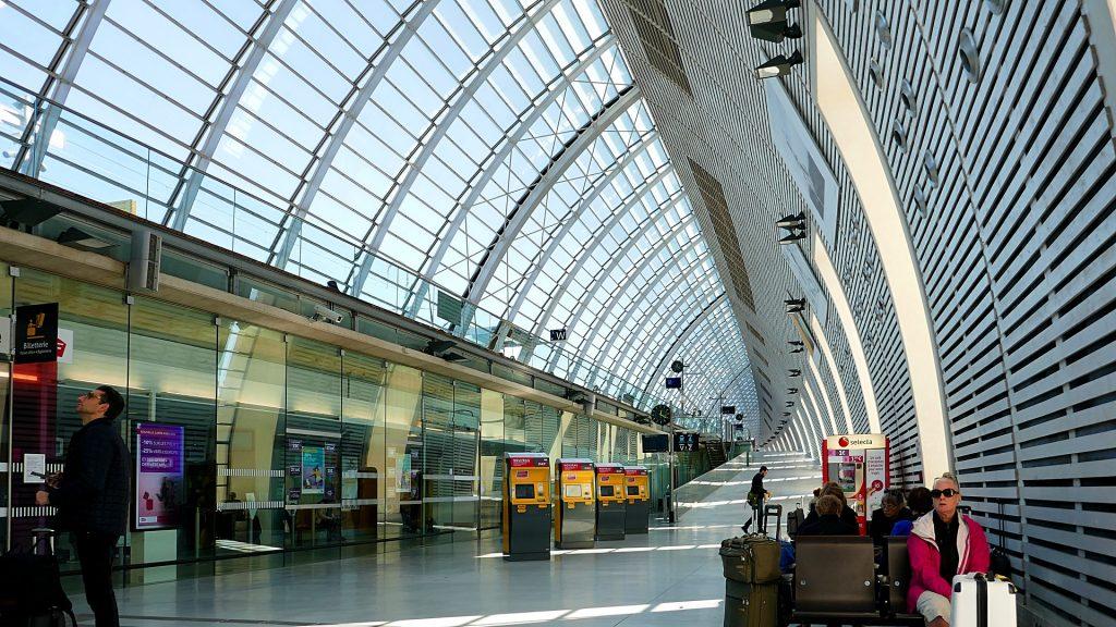 Interrail Bahnhof Ticketschalter