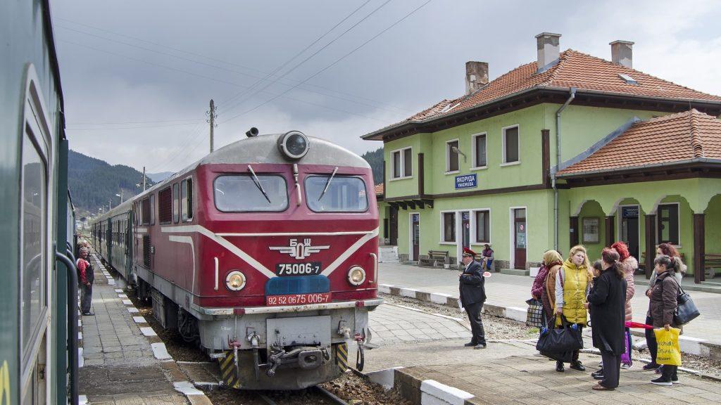 Interrail Zug Osteuropa