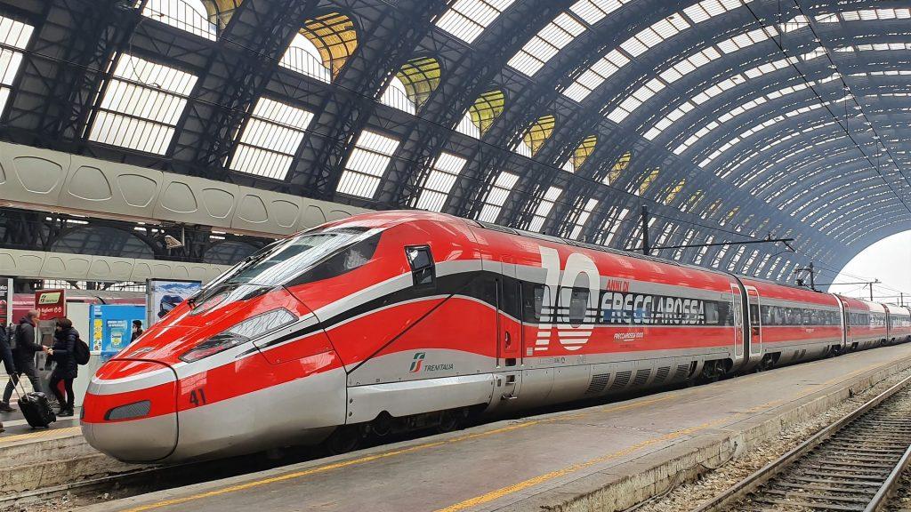 Interrail Zug Italien