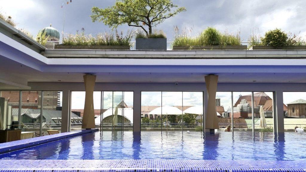 Bayerischer Hof München Spa Pool