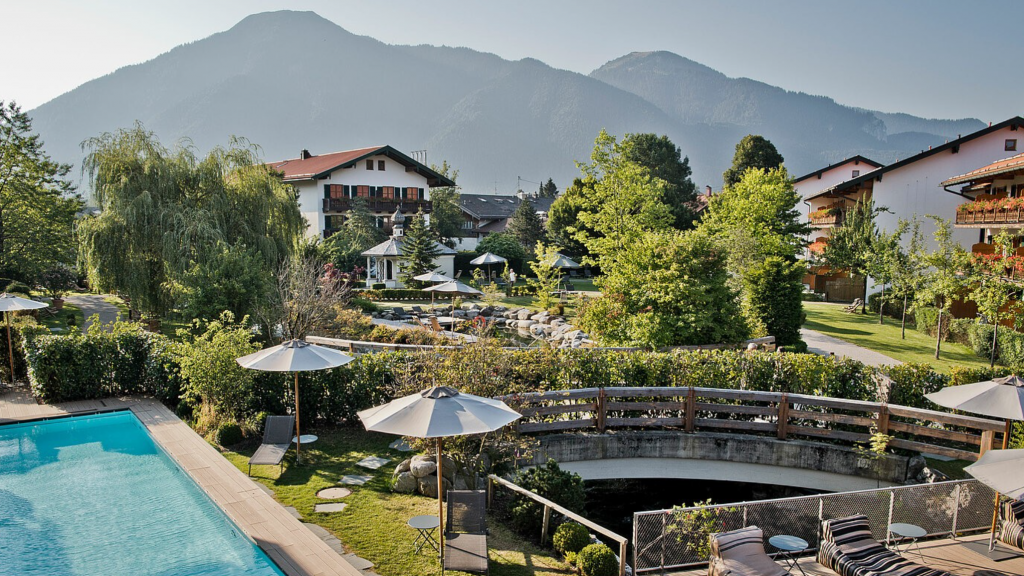 Bachmair Weissach Spa Resort Exterior