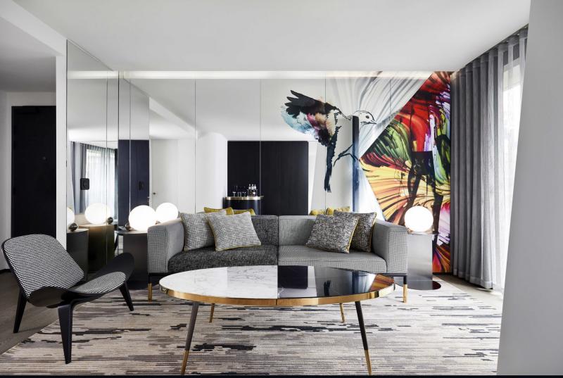 W Melbourne Suite Lounge