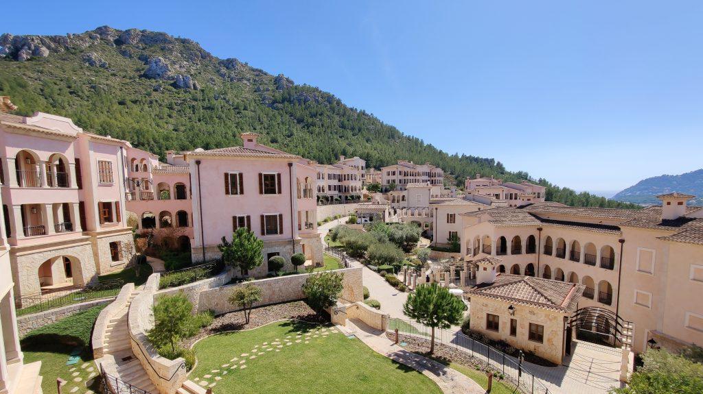 Cap Vermell Grand Hotel Mallorca Zimmer Ausblick 2