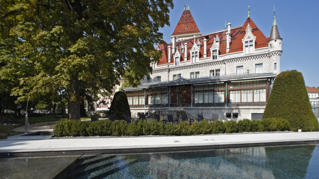 Château D'Ouchy Lausanne Pool