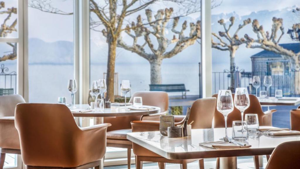 Château D'Ouchy Lausanne Restaurant