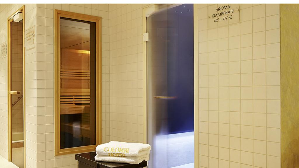 Colombi Hotel Freiburg Sauna
