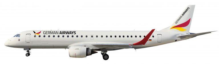 E190 German Airways 768x229
