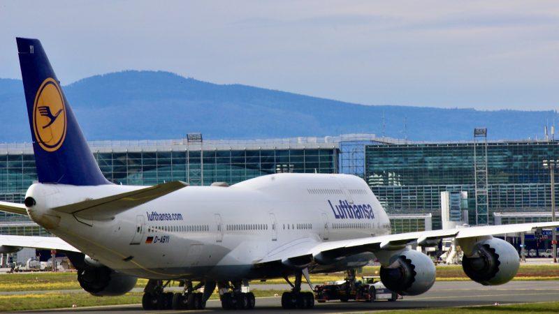 Lufthansa Boeing 747 Frankfurt