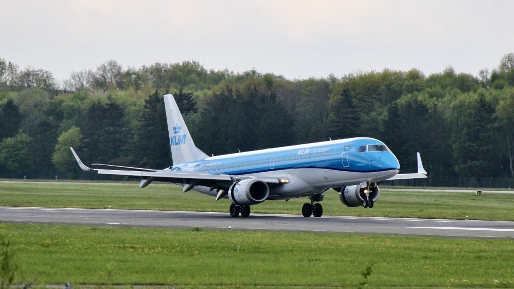 KLM Cityhopper Embraer E190