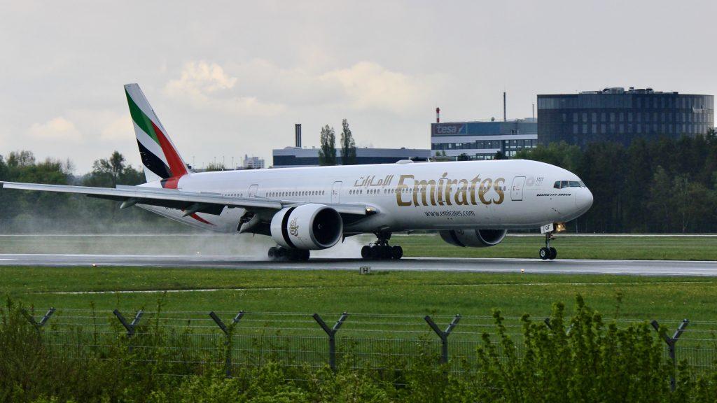 Emirates Boeing 777-300ER Hamburg