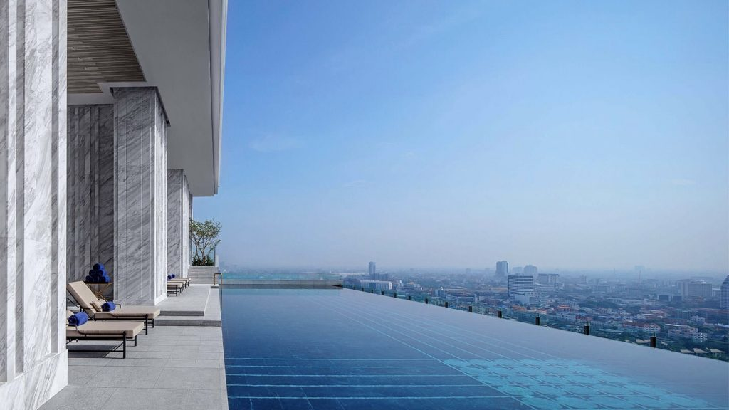 Infinity Pool 137 Pillars Suites Bangkok