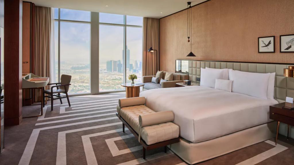 Waldorf Astoria Dubai IFC Zimmer