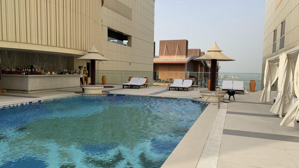 Andaz Dubai The Palm Pool Roof 2