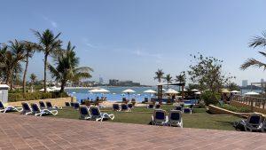 Andaz Dubai The Palm Pool Strand