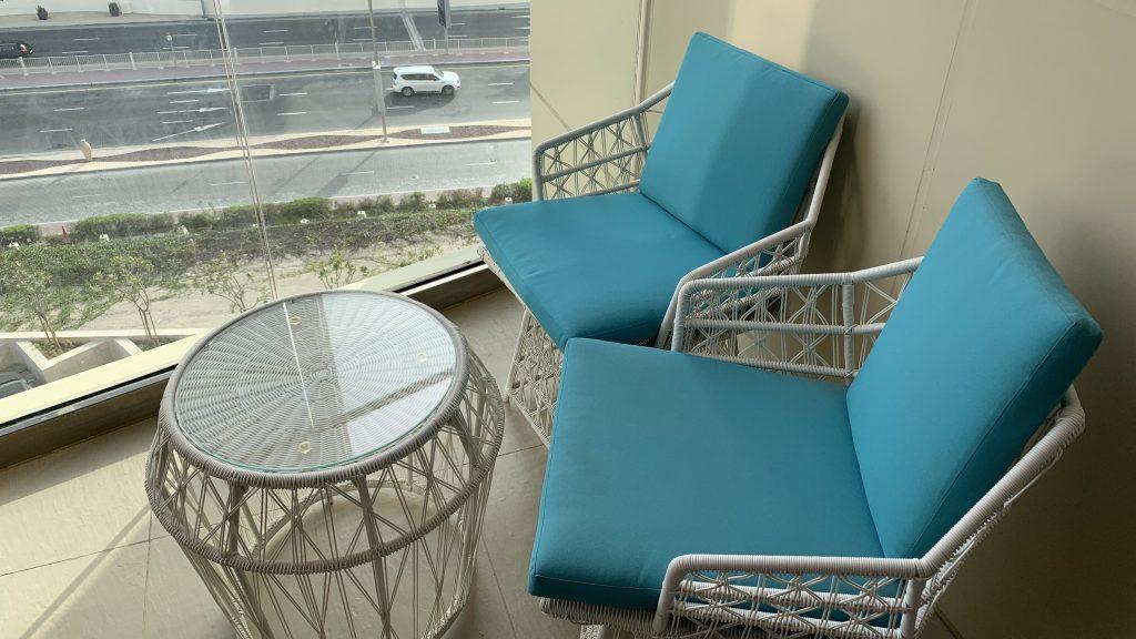 Andaz Dubai The Palm Suite Balkon