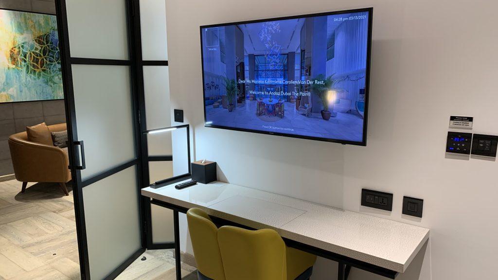 Andaz Dubai The Palm Tv