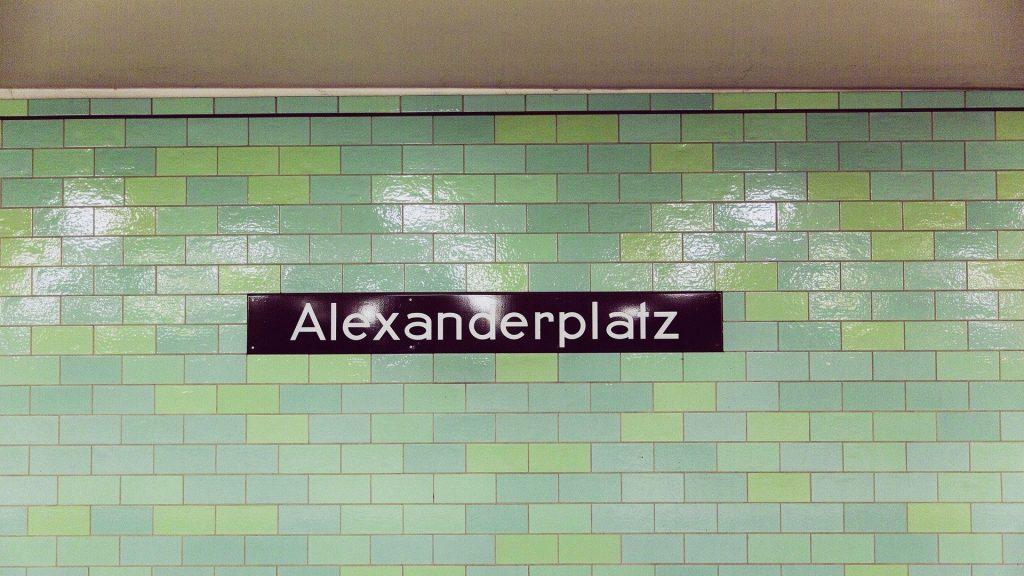 City-Ticket Beispiel-Haltestelle Alexanderplatz Berlin