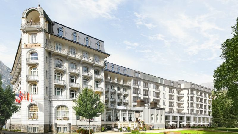 Aussenansicht Kempinski Palace Engelberg Copyright Kempinski Hotels 1