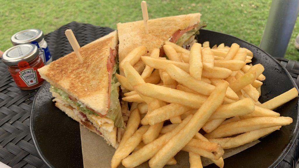 Jw Marriott Dubai Marquis Essen Club Sandwich