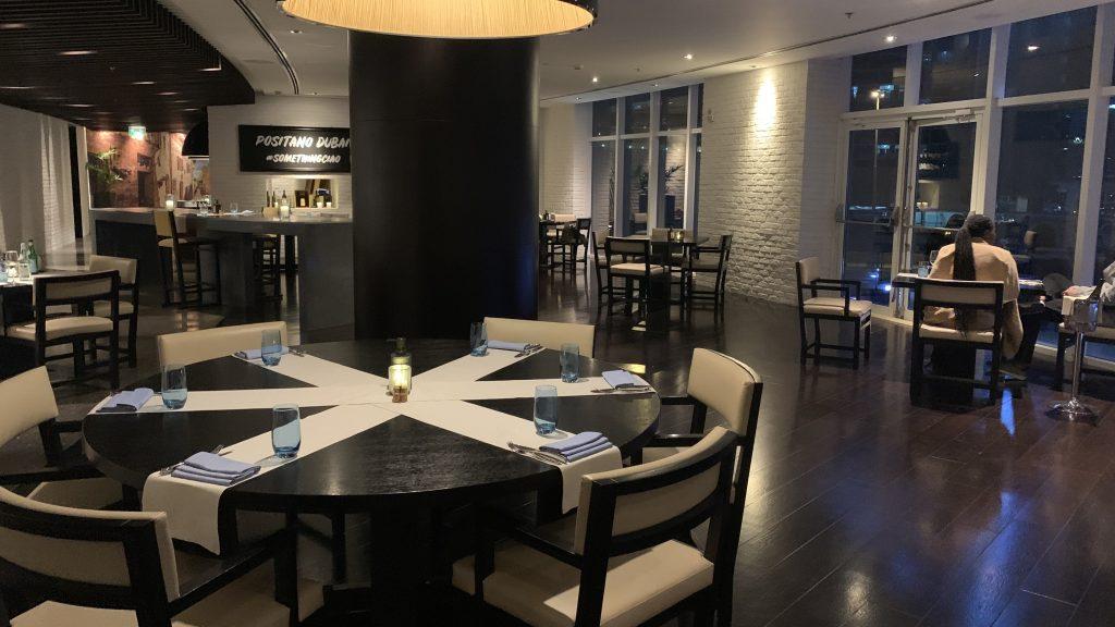 Jw Marriott Dubai Marquis Italienisches Restaurant