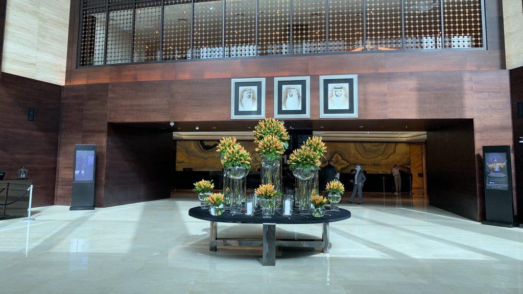 Jw Marriott Dubai Marquis Lobby
