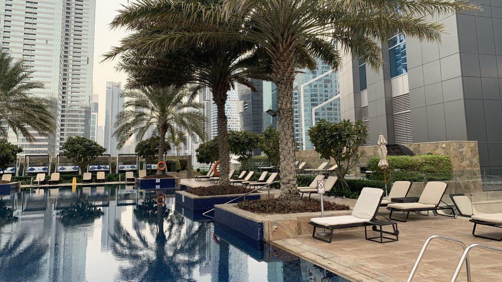 Jw Marriott Dubai Marquis Pool 1
