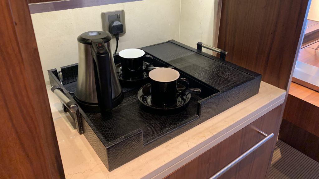 Jw Marriott Dubai Marquis Zimmer Kaffee
