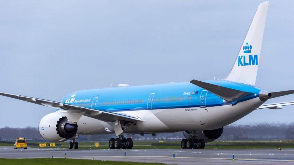 Klm Dreamliner Boeing 787